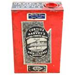 A Curtis's and Harveys 5lb tin for extra coarse grain gunpowder for duck and coast shooting (empty)