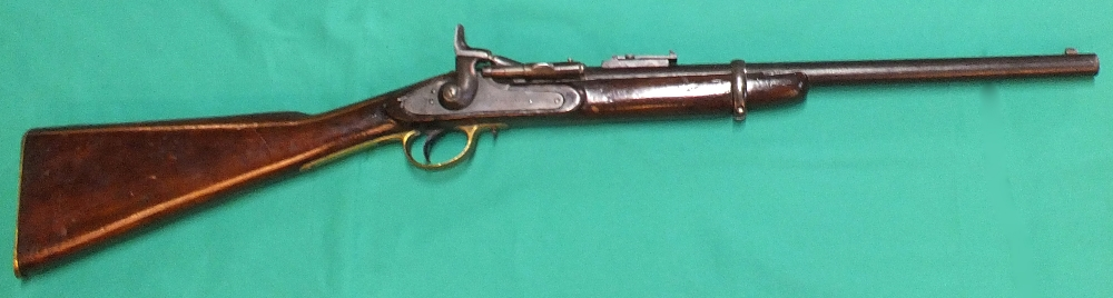 Lot 81 - A Snider (.577 cal) Cavalry carbine by I.