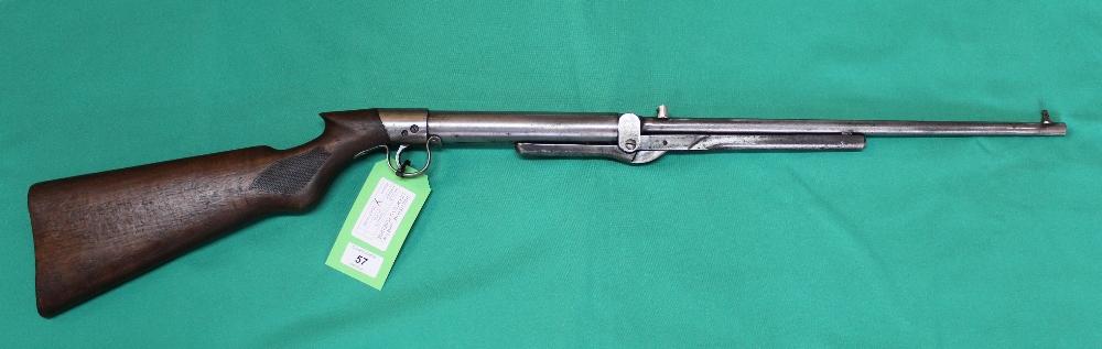 A B.S.A. light or ladies model air rifle, S/No.