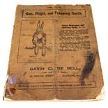A vintage edition of 'Gun, Pistol and Trapping Guide',