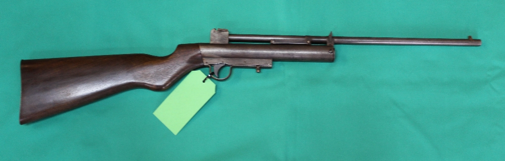 Lot 58 - A rare Webley MkI .22 cal air rifle S/No.