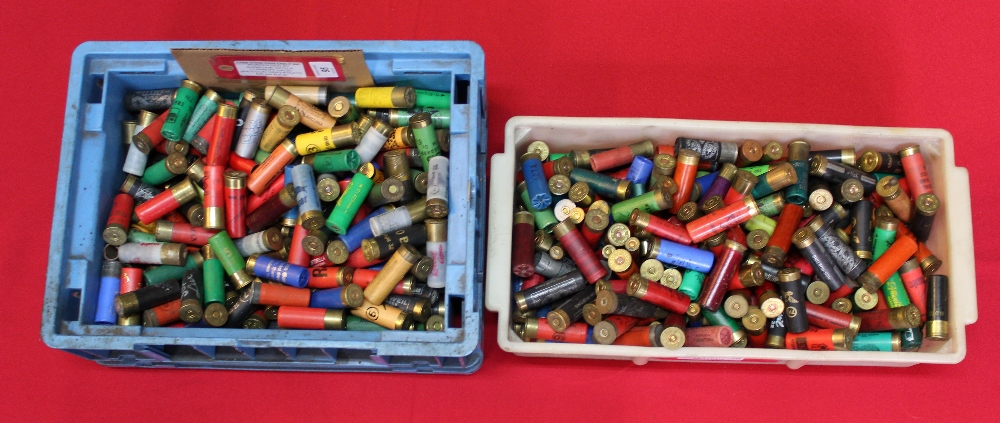 Lot 95 - Two large boxes of various foreign cartridges,