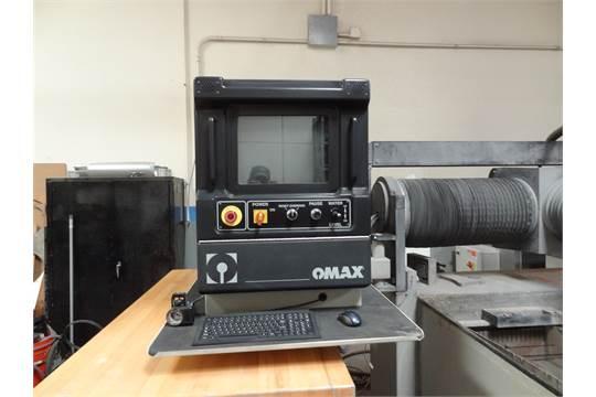 OMAX Model 55100 Pump Model P3050V Serial Number: B511971