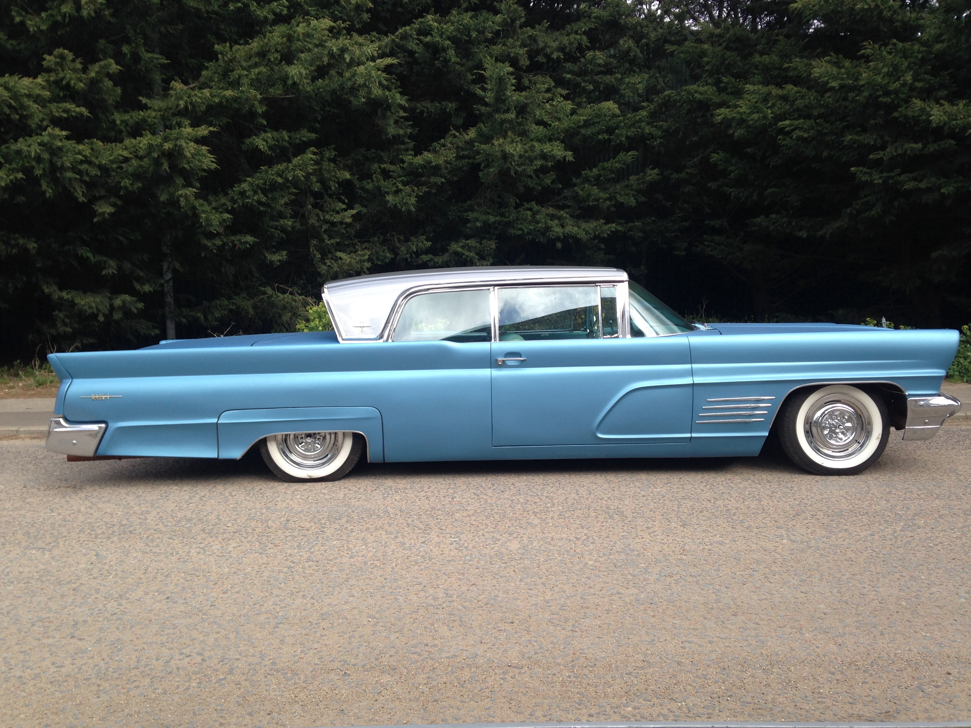1960 Lincoln Continental Auto Flat Paint With Gloss Silver