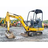 JCB 8014 CTS 1.5 tonne rubber tracked mini excavator Year: 2014 S/N: 2070464 Recorded Hours: 1102