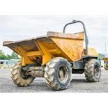 Terex PT6000 6 tonne straight skip dumper Year: 2006 S/N: E605FW092 Recorded hours: 4110 2080