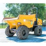 Terex TA9 9 tonne straight skip dumper Year: 2014 S/N: PK5837 Recorded Hours: 4296