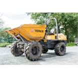 Terex 6 tonne swivel skip dumper Year: 2013 S/N: ED4MT4144 Recorded Hours: 1969 A598861