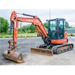 Kubota U48-4 4.8 tonne rubber tracked midi excavator Year: 2011 S/N: 50555 Recorded Hours: 5503