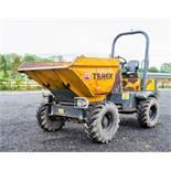Terex TA3s 3 tonne swivel skip dumper Reg No: Q517 YDY c/w V5 Road Reg Certificate Year: 2014 S/N: