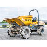 Terex 6 tonne swivel skip dumper Reg No: Q880 WAG c/w V5 Road Reg Certificate Year: 2013 S/N: