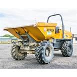 Terex TA6s 6 tonne straight skip dumper Reg No: Q294 EGU c/w V5 Road Reg Certificate Year: 2014