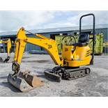 JCB 8008 0.8 tonne rubber tracked micro excavator Year: 2005 S/N: 1148435 Recorded Hours: 3261