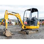 JCB 8014 CTS 1.5 tonne rubber tracked mini excavator Year: 2011 S/N: 1627063 Recorded Hours: 1807