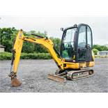 JCB 8016 CTS 1.5 tonne rubber tracked mini excavator Year: 2014 S/N: 2071572 Recorded Hours: 1974