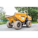 Terex TA9 9 tonne straight skip dumper Reg No: Q603 WGF c/w V5 Road Reg Certificate Year: 2014 S/