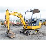 JCB 8014 1.5 tonne rubber tracked mini excavator Year: 2004 S/N: E1021487 Recorded Hours: 4165 blade