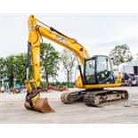 JCB JS 130 LC 13 tonne steel tracked excavator Year: 2014 S/N: 2134020 Recorded Hours: 6374