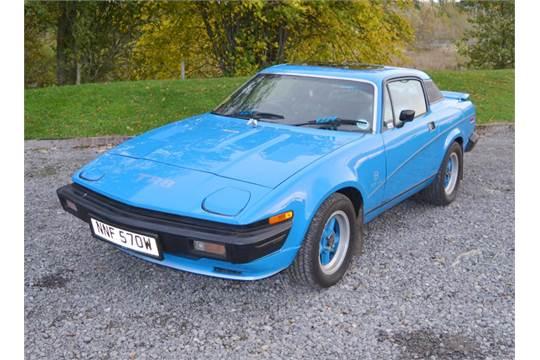 1980 Triumph Tr7 V8 Conversion Registration Number Nnf 570w Date Of