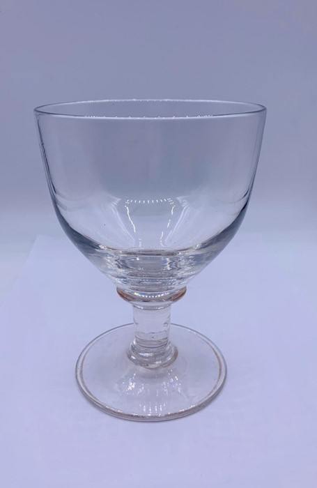 A Rummer with oval bowl