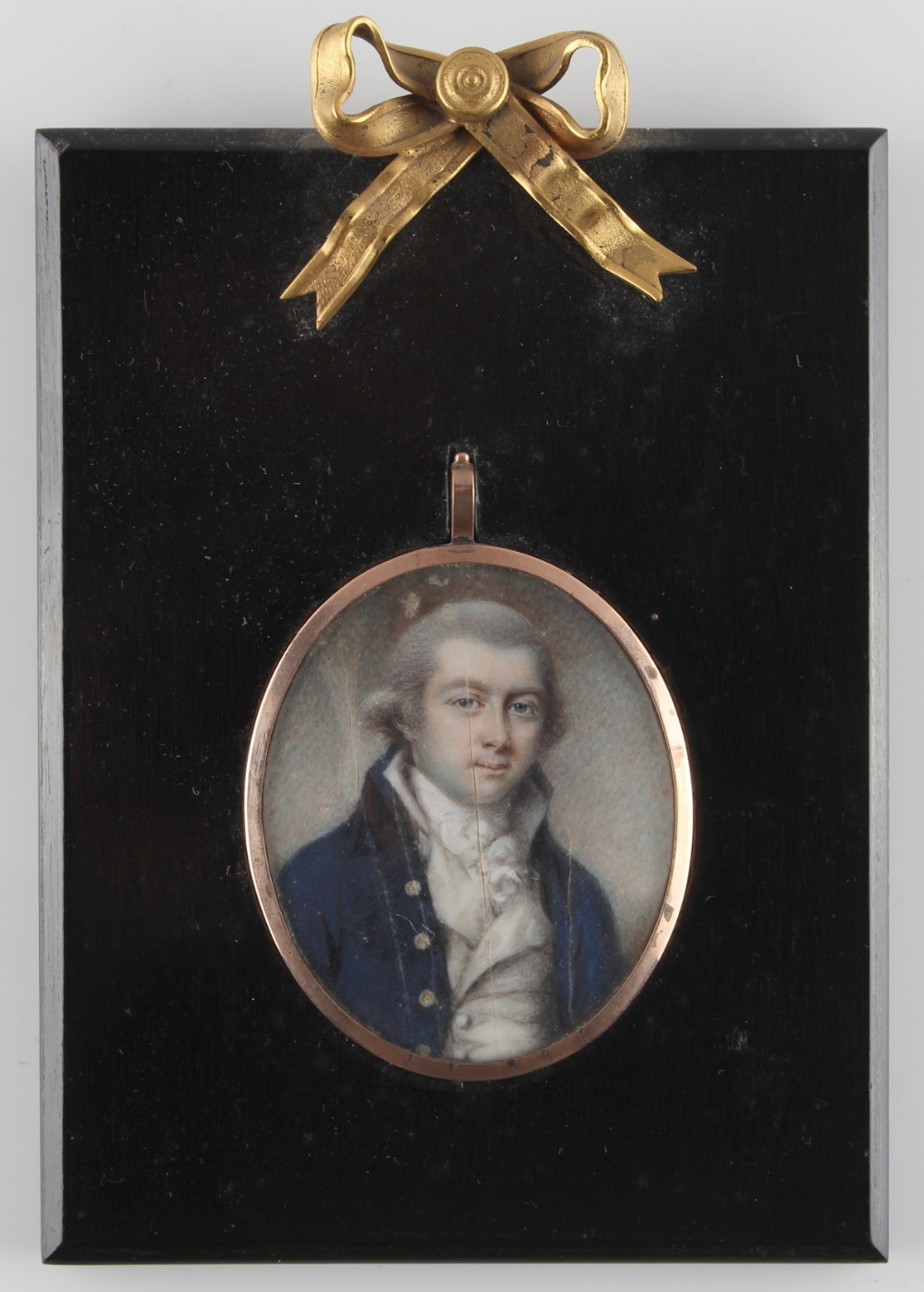 Lot 294 - Property of a lady - English school, late 18th / early 19th century - PORTRAIT OF A GENTLEMAN -