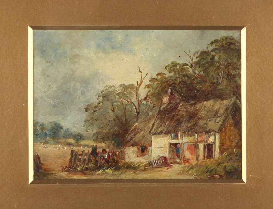 Lot 430 - Property of a deceased estate - Myles Birket Foster (1825-1899), attributed to - 'A SURREY