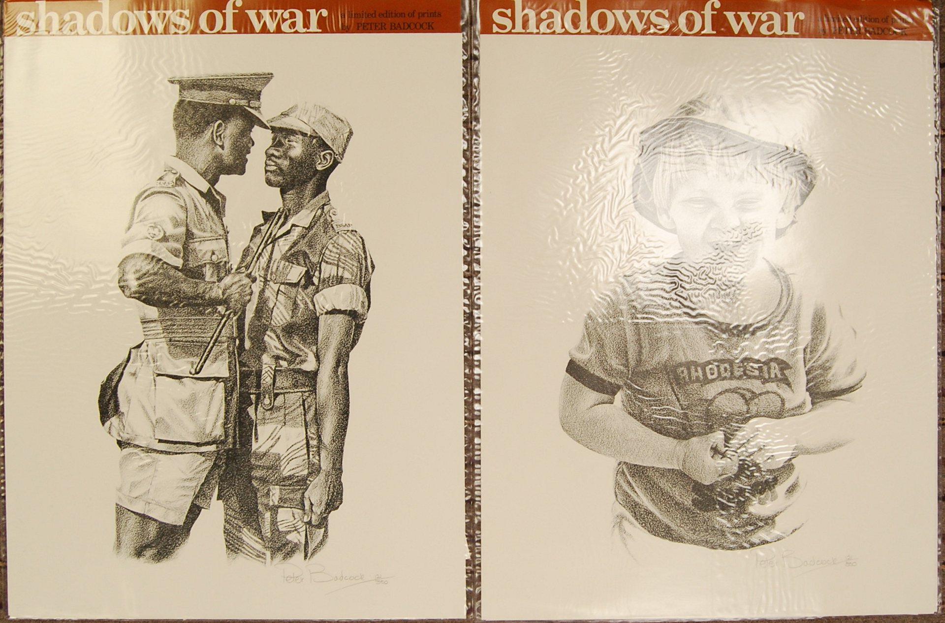 RHODESIA SHADOWS OF WAR LIMITED EDITION PRINTS BY PETER BADCOCK - Image 3 of 5
