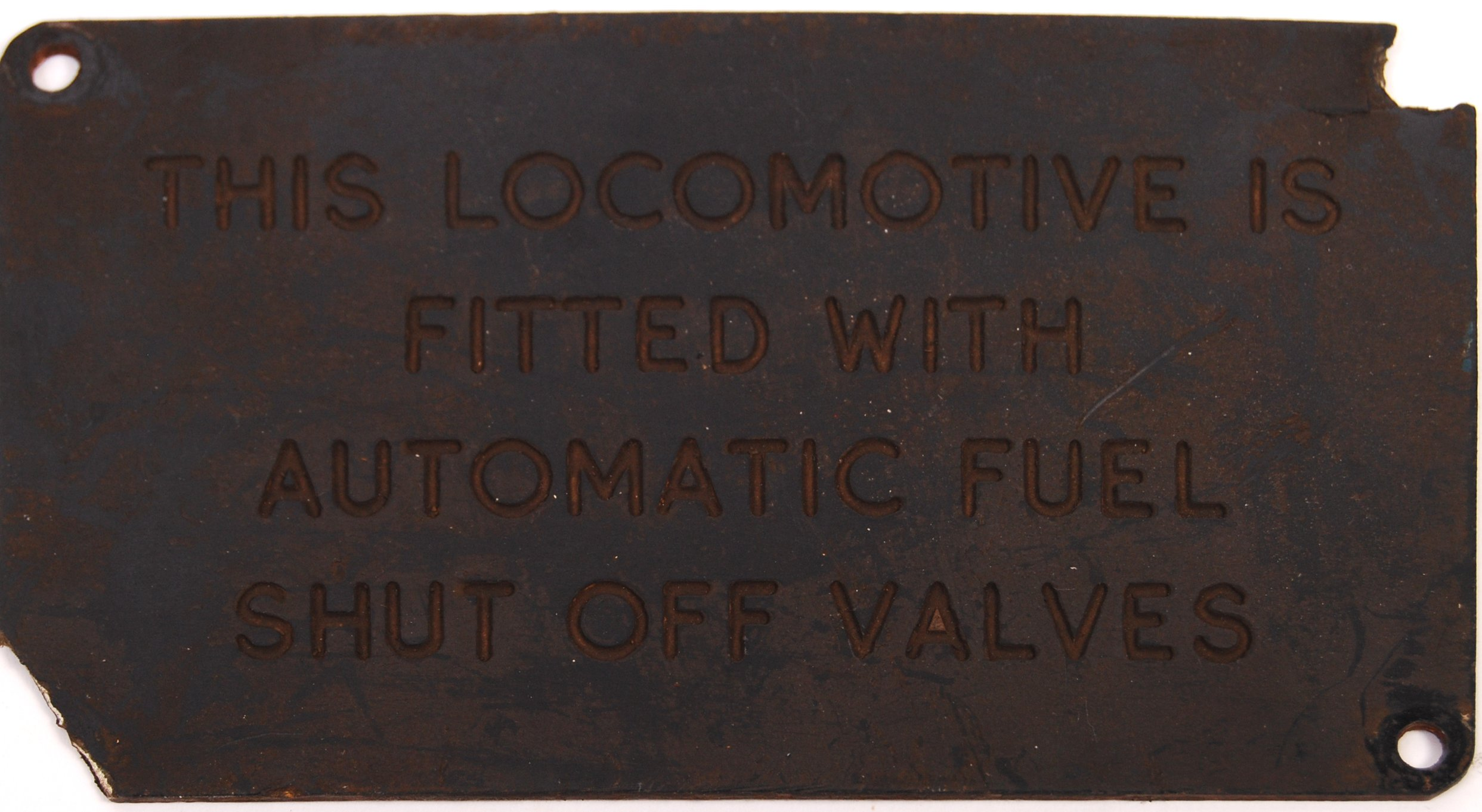 RARE COLLECTION OF RAILWAYANA - REMOVED FROM D7055 HYMEK DIESEL LOCO - Image 5 of 8