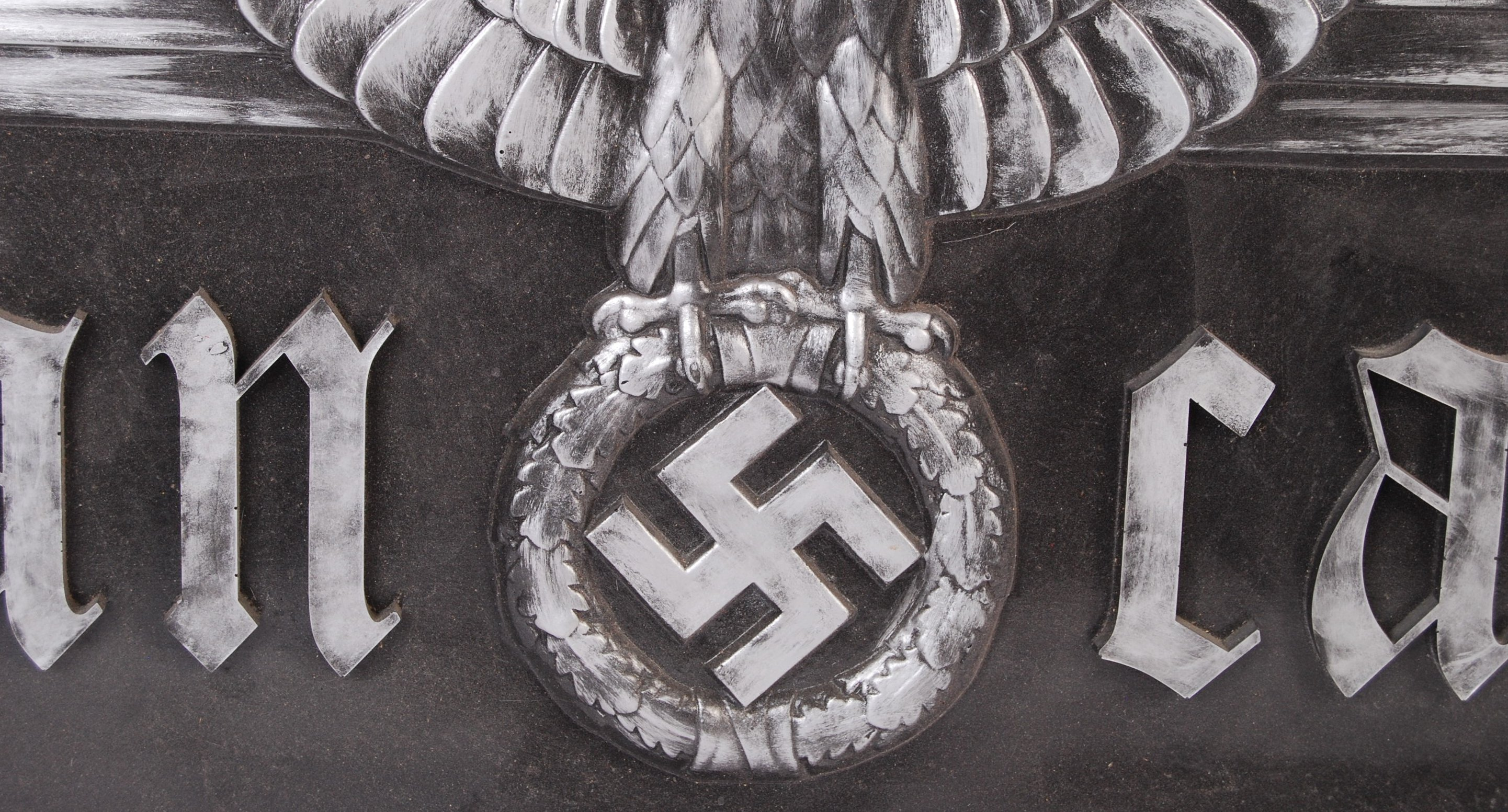 WWII SECOND WORLD WAR NAZI THIRD REICH INSPIRED WALL PLAQUE - Image 2 of 3