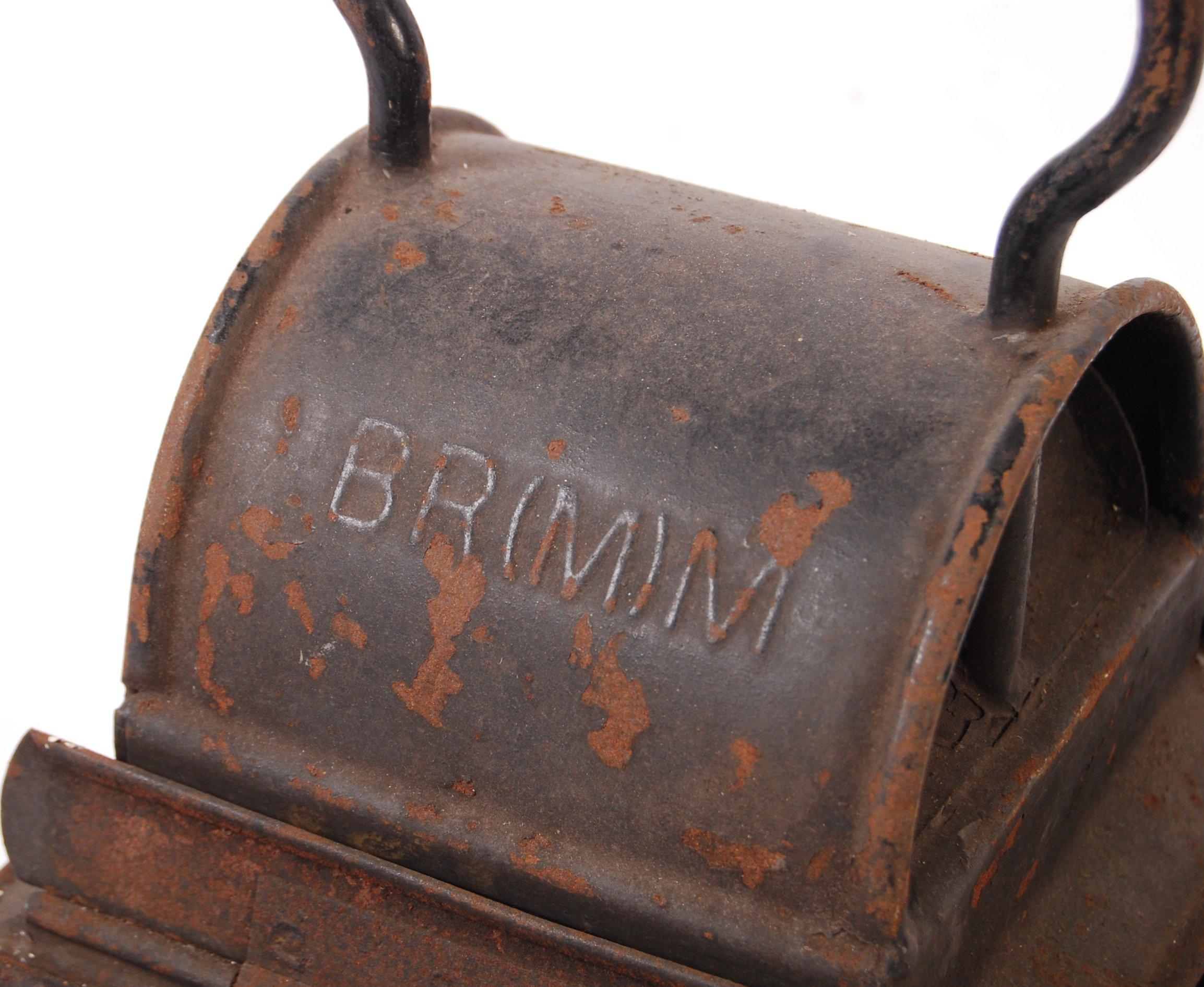 VINTAGE BRITISH RAILWAYS BR RAILWAY LAMP / LANTERN - Image 4 of 4