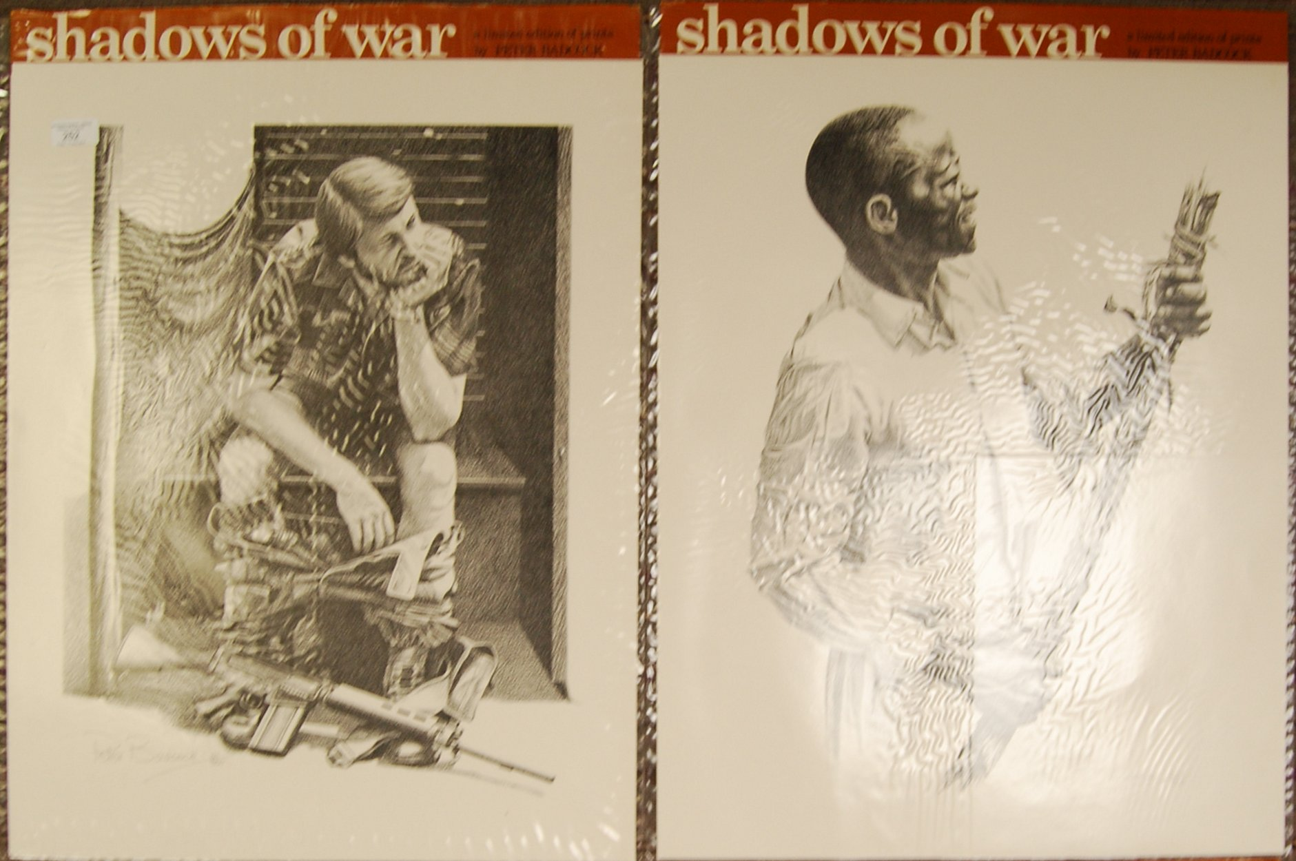 RHODESIA SHADOWS OF WAR LIMITED EDITION PRINTS BY PETER BADCOCK - Image 2 of 5