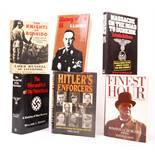 WWII WORLD WAR TWO MILITARY RELATED HARDBACK BOOKS