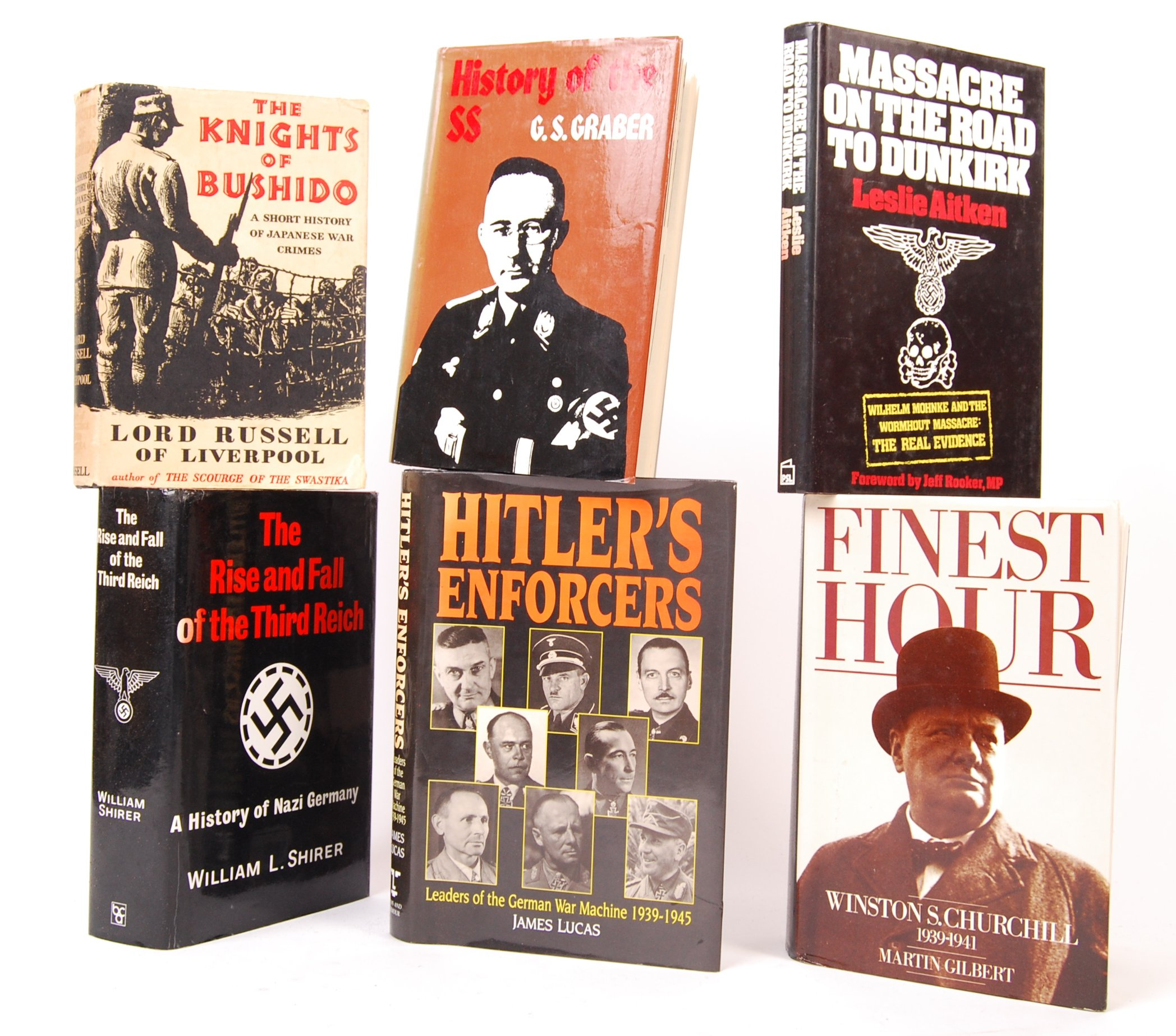 Lot 204 - WWII WORLD WAR TWO MILITARY RELATED HARDBACK BOOKS