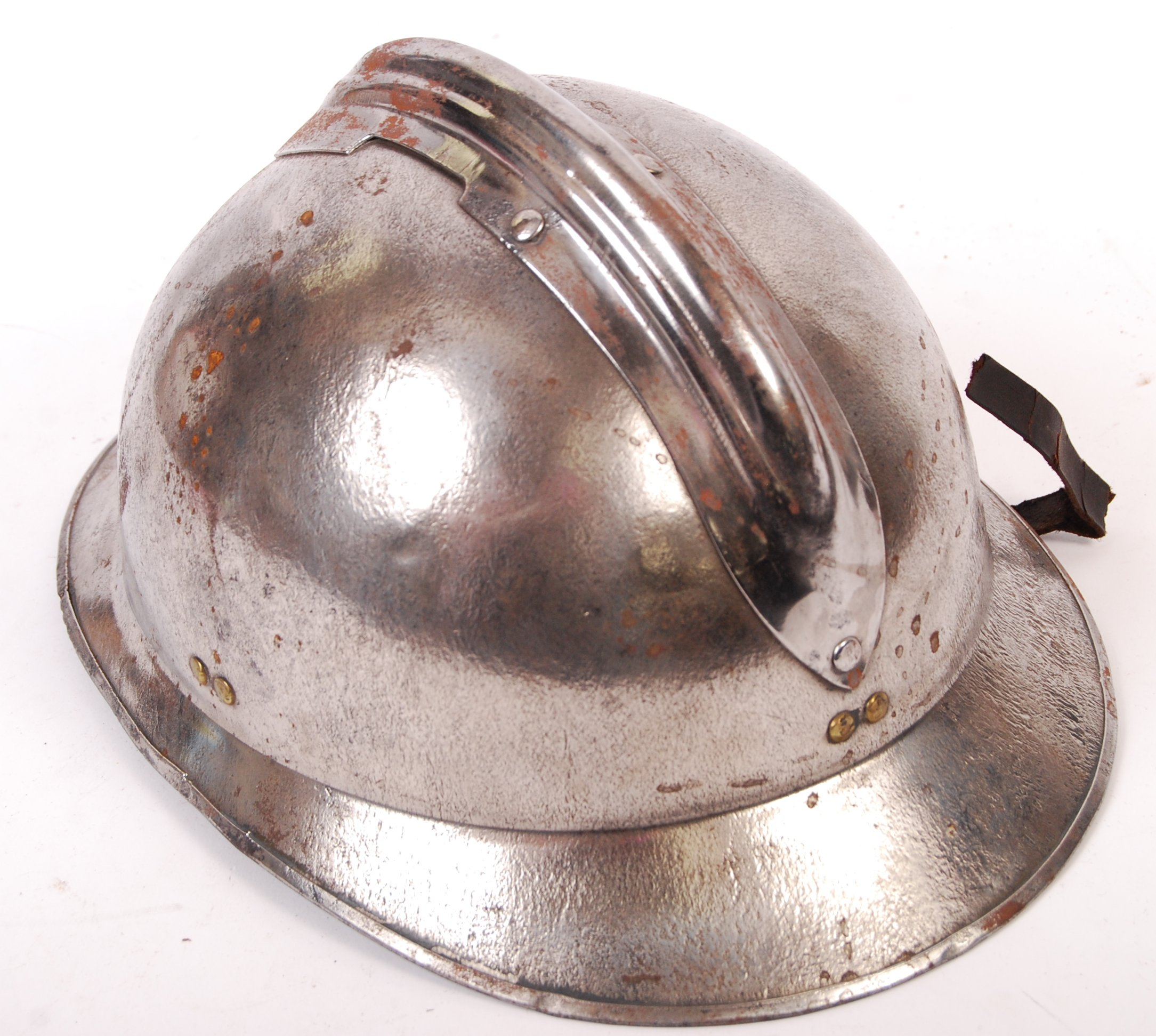 WWII SECOND WORLD WAR FRENCH M26 ADRIAN HELMET - Image 5 of 6