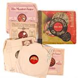 COLLECTION OF WWII RELATED 78RPM RECORDS OF SPEECHES ETC