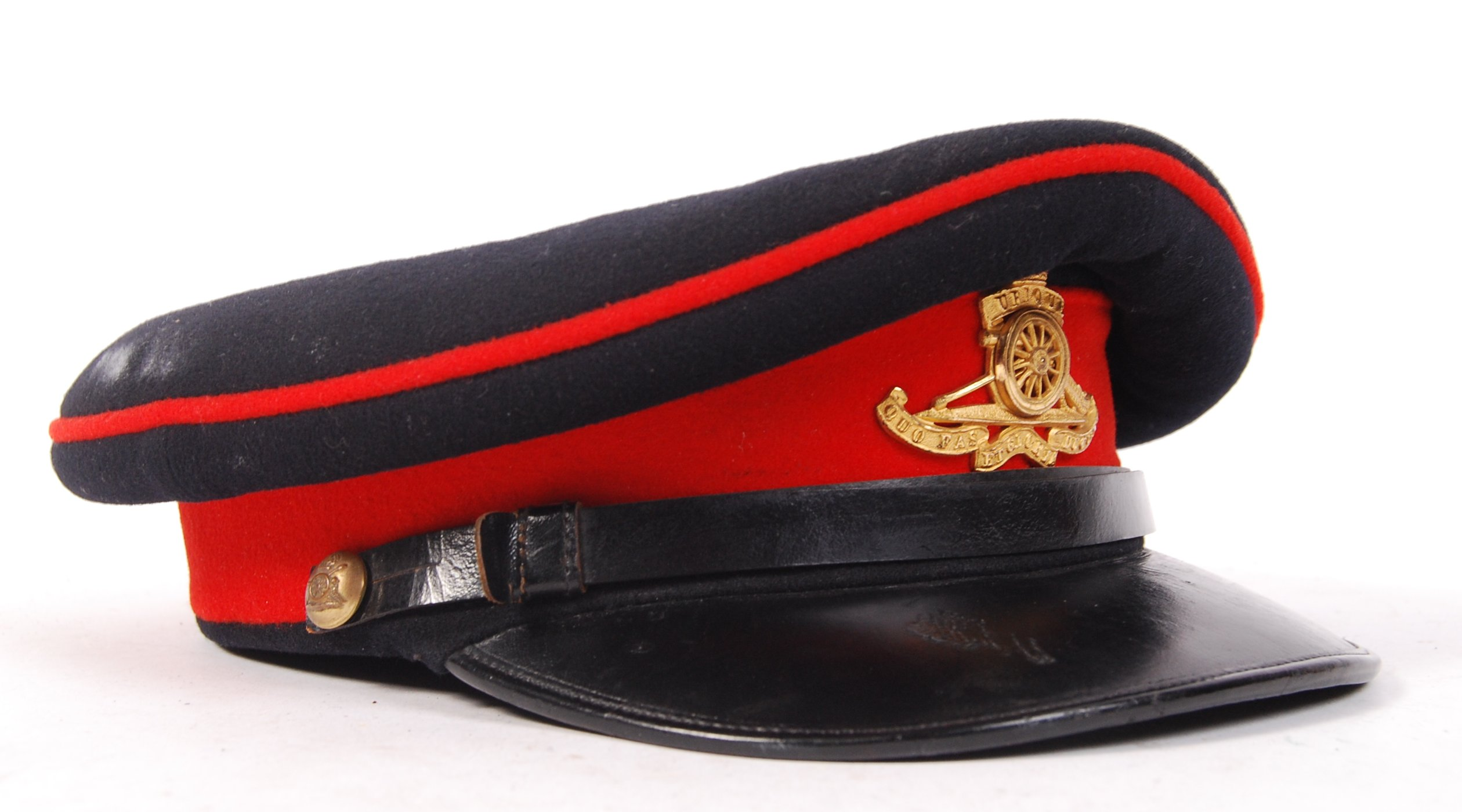Lot 47 - 1950'S ROYAL ARTILLERY OFFICER'S DRESS CAP