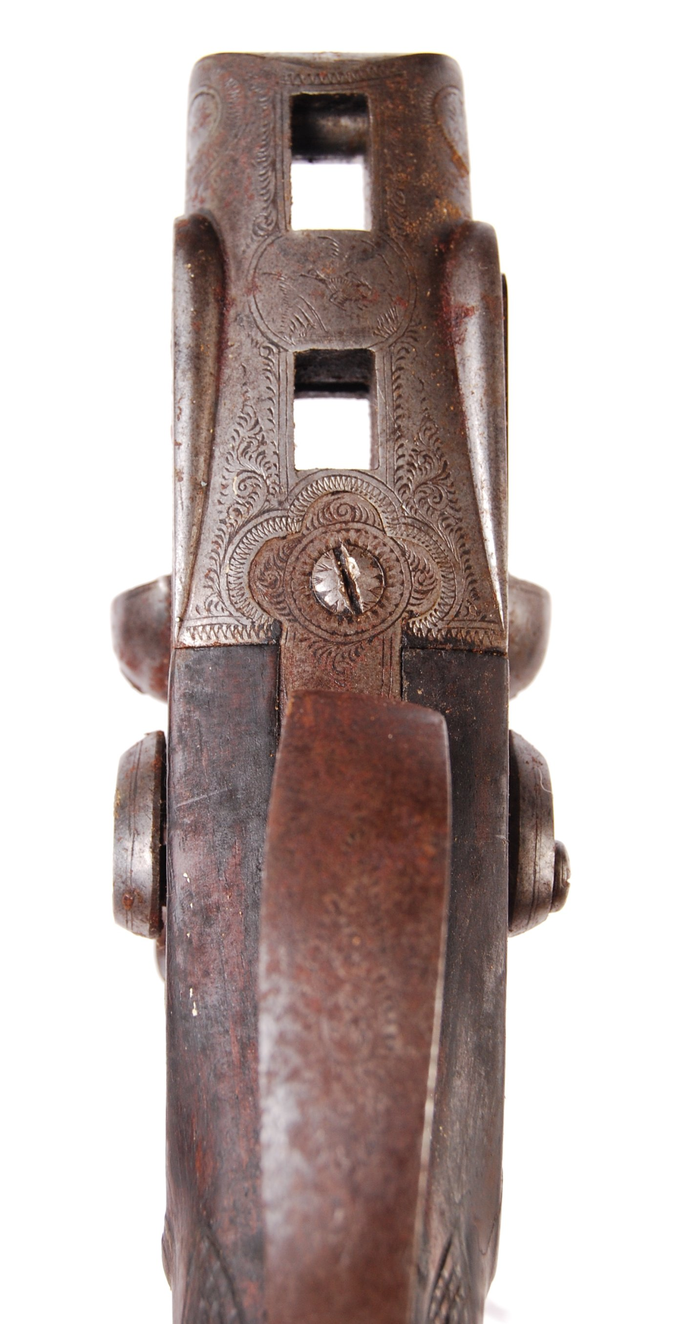 ANTIQUE 19TH CENTURY SV MARDELL SHOTGUN BUTT - Image 6 of 8
