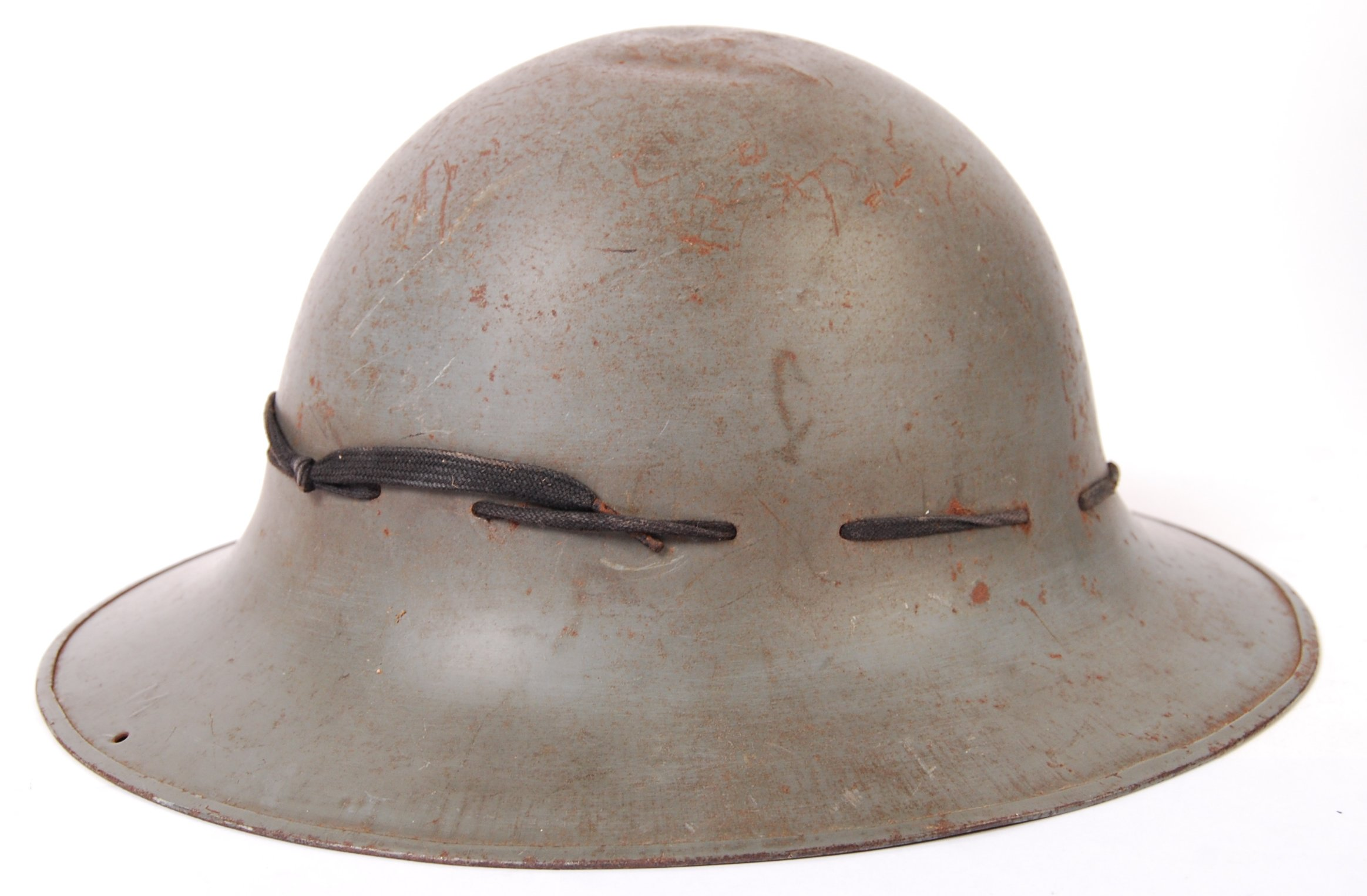 Lot 138 - WWII SECOND WORLD WAR ZUCKERMAN CIVIL DEFENCE HELMET