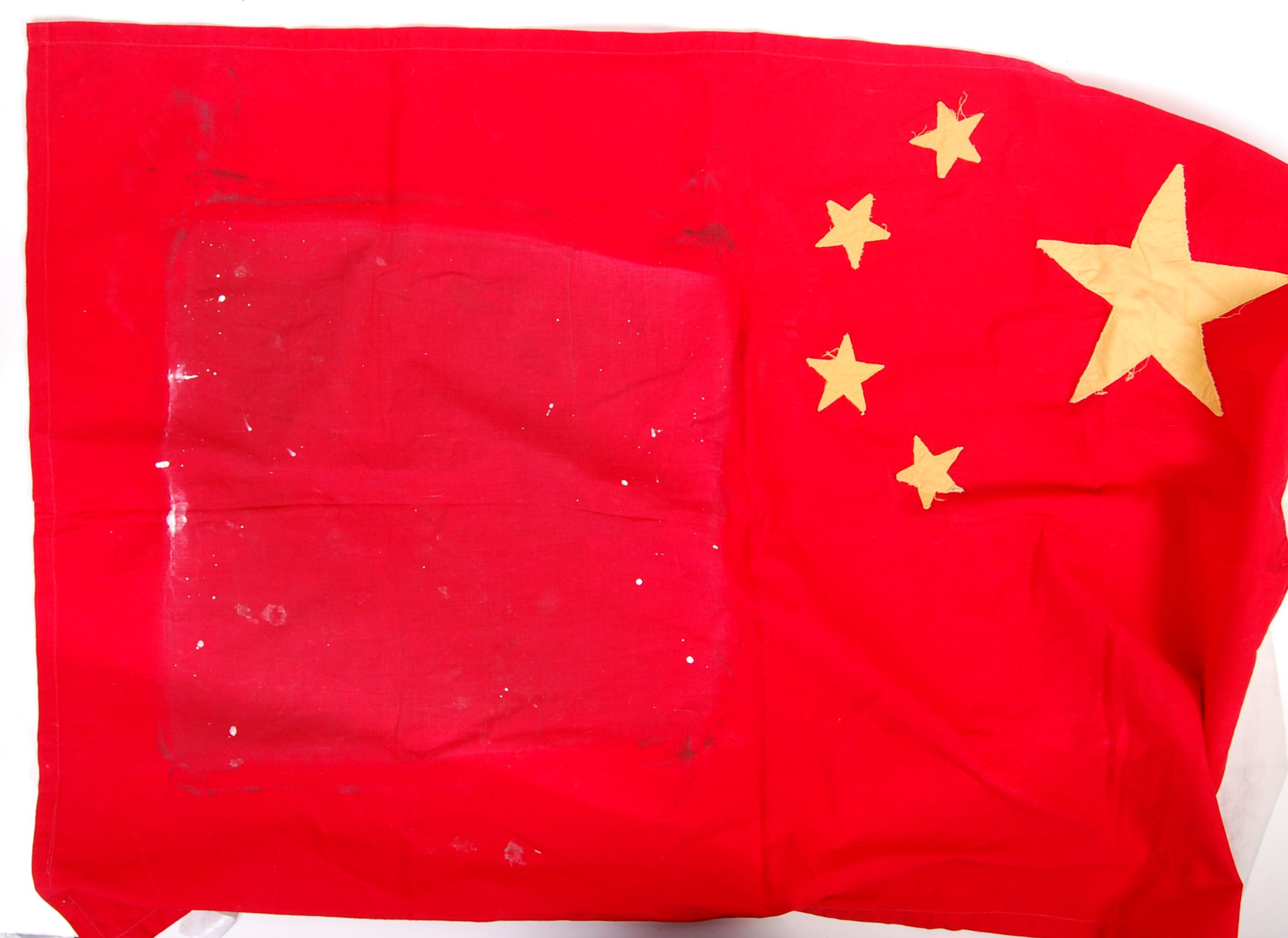 Lot 132 - VINTAGE MID-CENTURY 1960'S FLAG OF CHINA