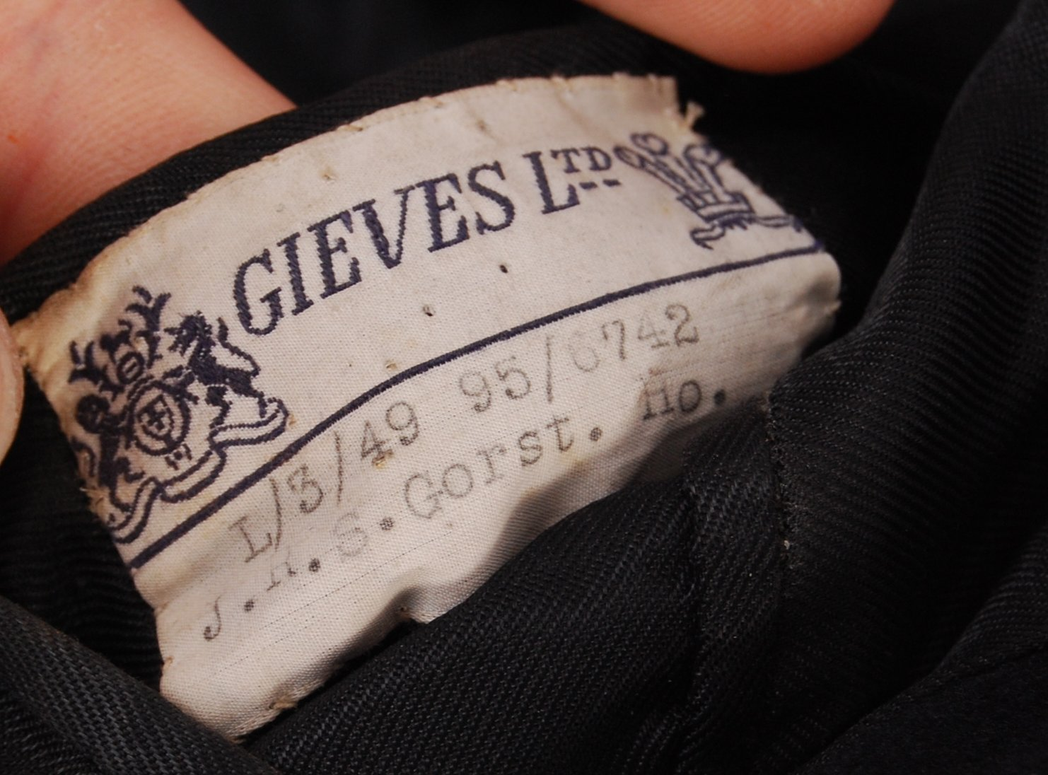 Lot 222 - POST-WWII SECOND WORLD WAR NAVAL GREATCOAT
