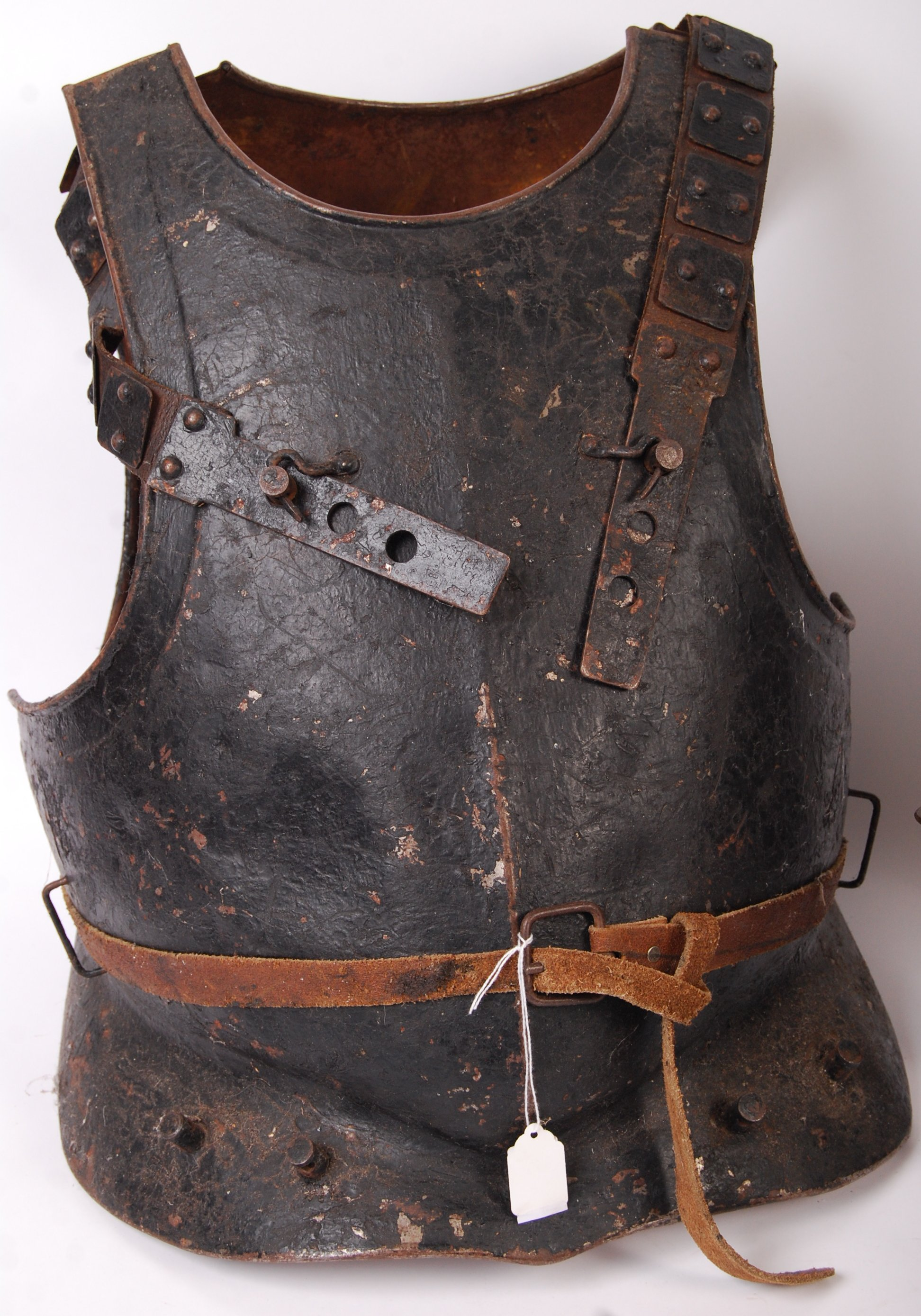 Lot 311 - REPRODUCTION 17TH CENTURY ENGLISH CIVIL WAR PARTIAL SUIT OF ARMOUR