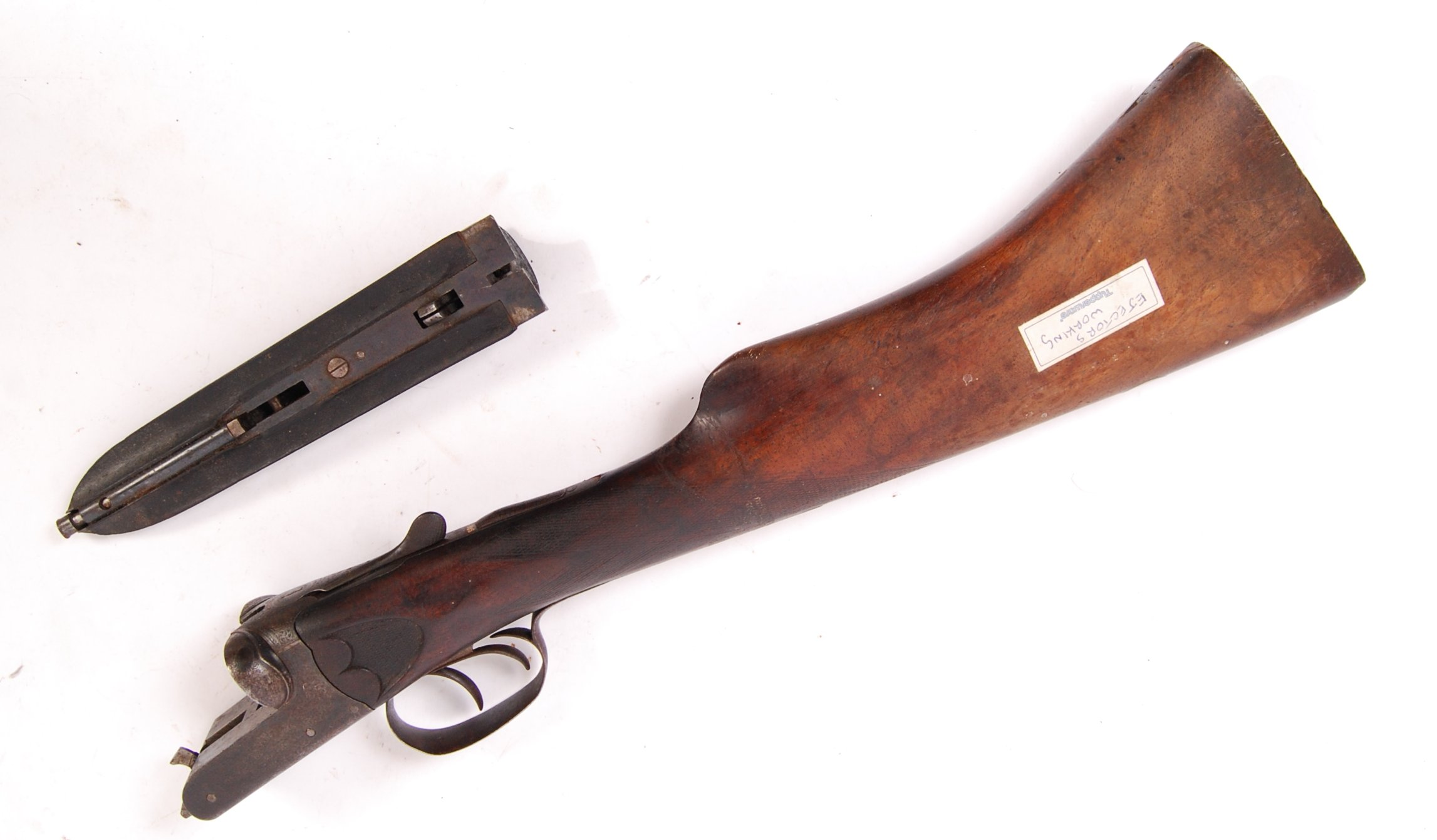 Lot 103 - ANTIQUE 19TH CENTURY CHARLES BOSWELL LONDON SHOTGUN BUTT