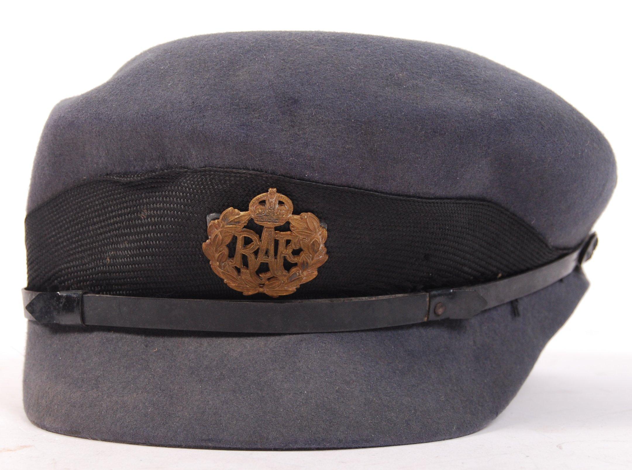 Lot 39 - POST-WWII SECOND WORLD WAR RARE WRAF SERVICE CAP