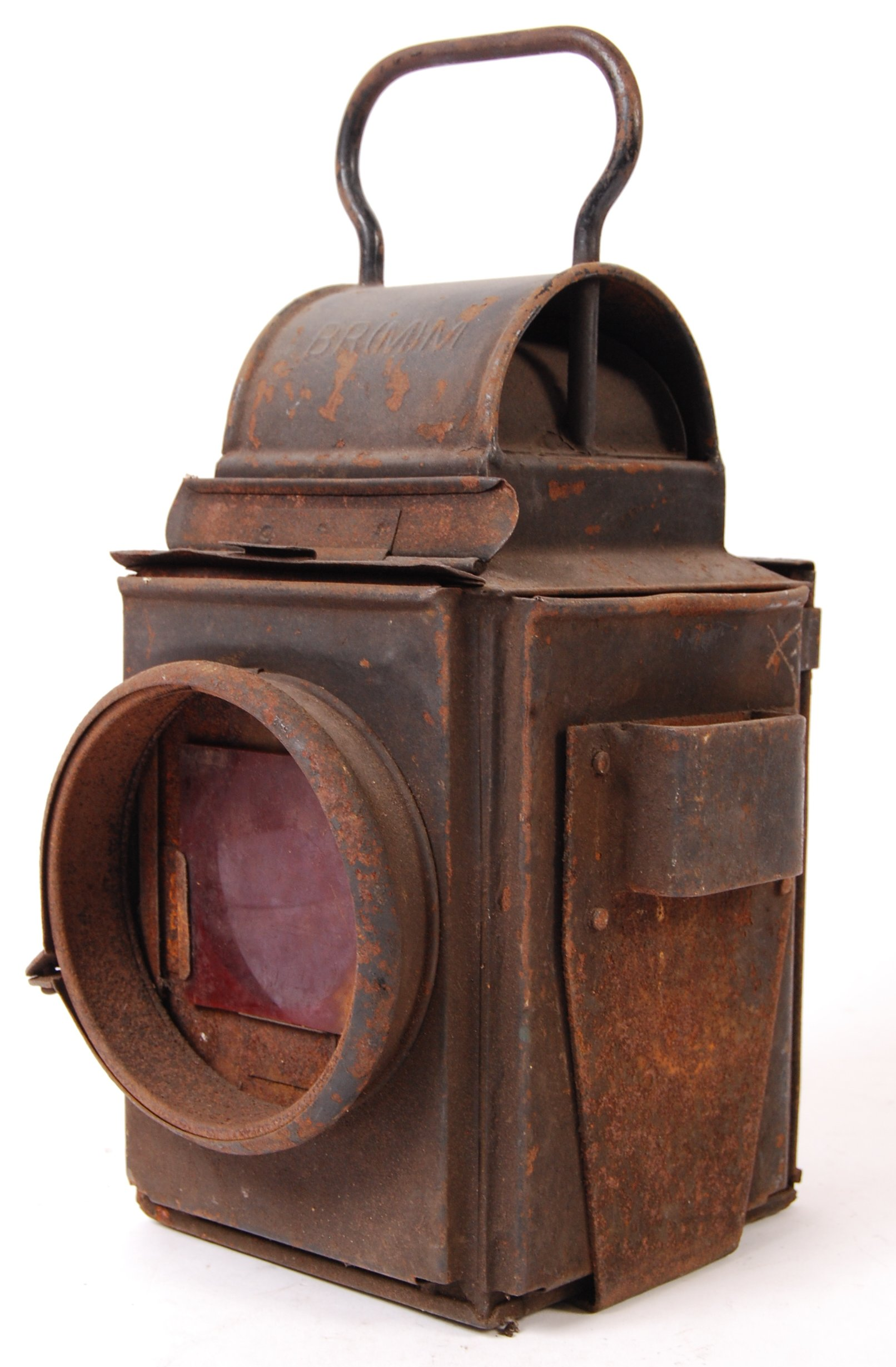 Lot 135 - VINTAGE BRITISH RAILWAYS BR RAILWAY LAMP / LANTERN
