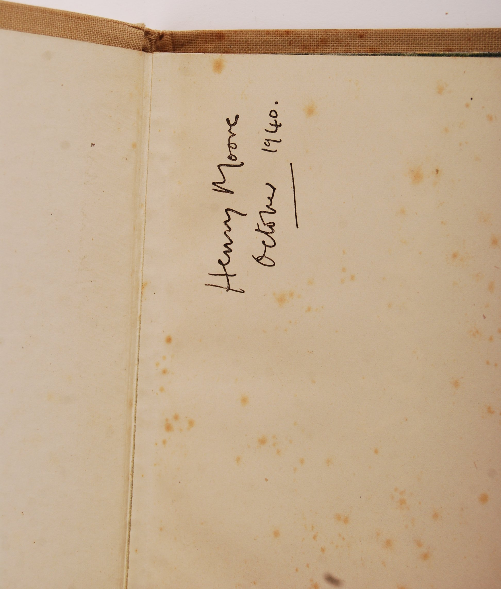HENRY MOORE WWII SECOND WORLD WAR SHELTER SKETCH BOOK - Image 2 of 8