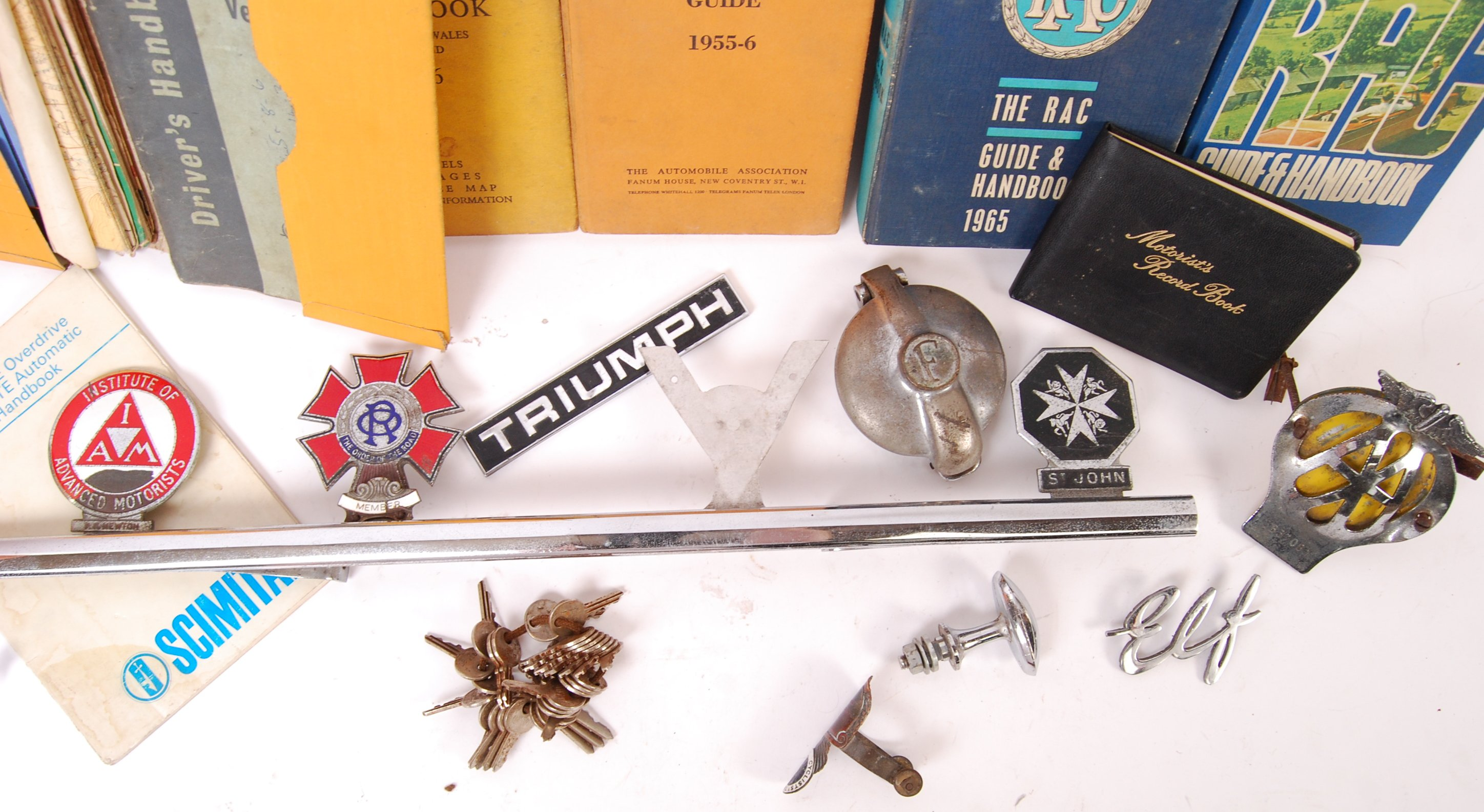 COLLECTION OF ASSORTED 1950'S MOTORING RELATED ITEMS - Image 2 of 3