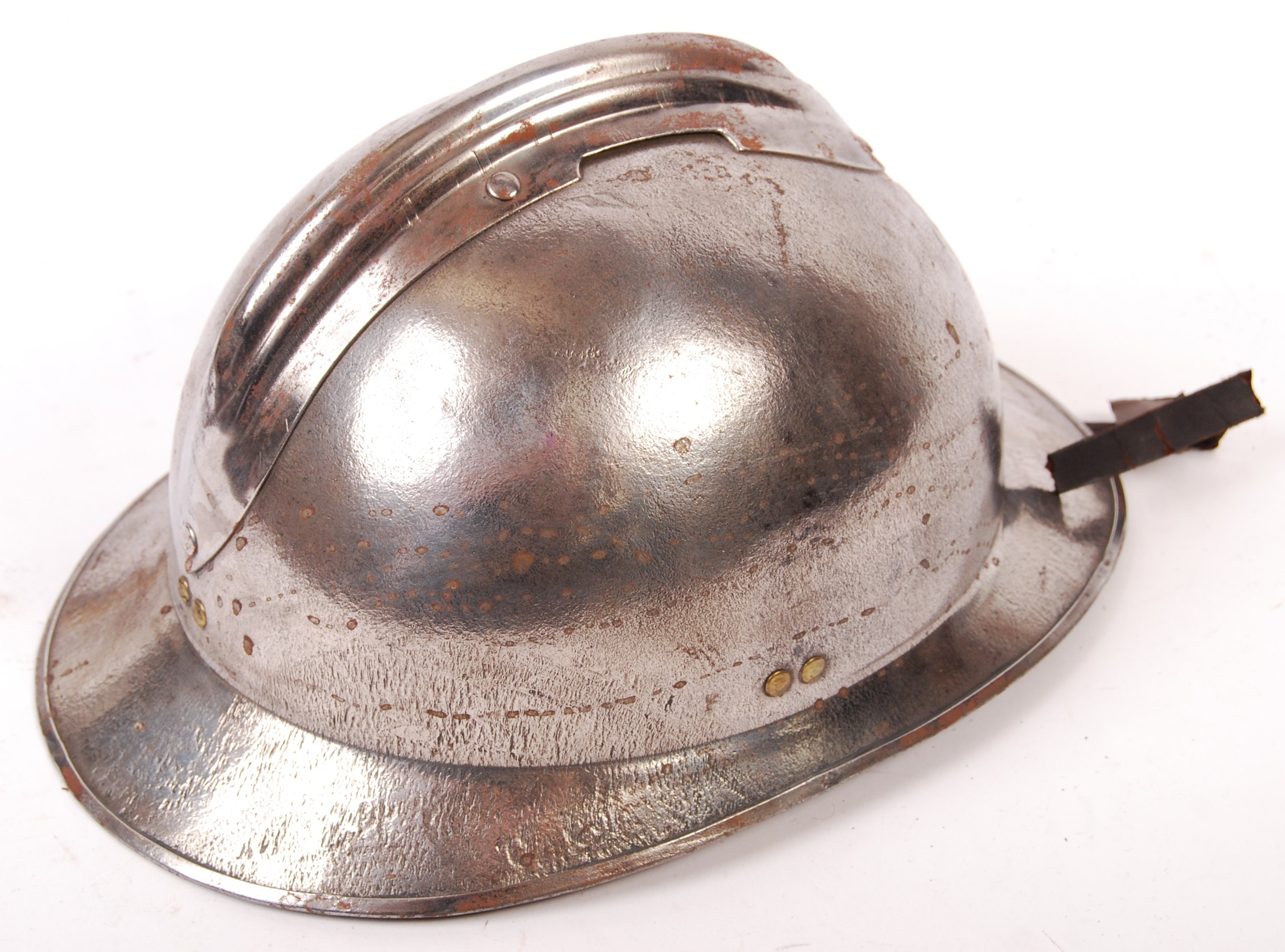 WWII SECOND WORLD WAR FRENCH M26 ADRIAN HELMET - Image 6 of 6