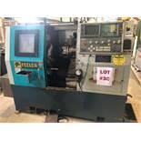 FEELER CNC LATHE, MODEL FTC-20, S/N TD123