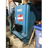 INDO PARTS WASHER, MODEL 112, S/N CJ1676, 26'' DIAMETER X 44'' HEIGHT