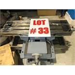 (1) MILLING TABLE, 8'' X 28''